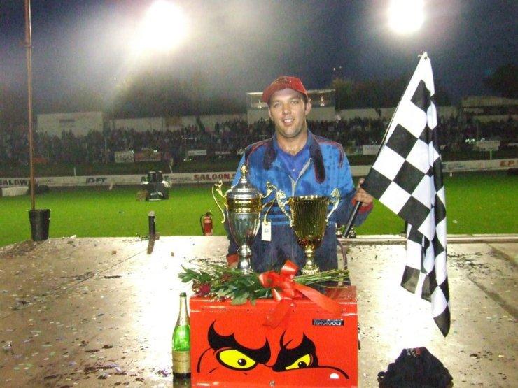 Shane Brown World Final Trophy